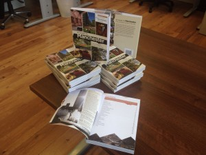 Guidebooks go on display